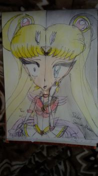 Two Sides of Sailor Moon by DebbietheMobianCat