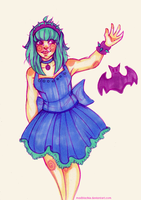 Pastel Queen of Darkness by MadBlackie