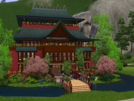 My Sim Bath House by BlackMage339