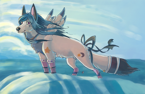 Commish - the Saltwater Room by AquariizaWolf