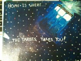 Home is Where the TARDIS Takes You by Paws-Prints