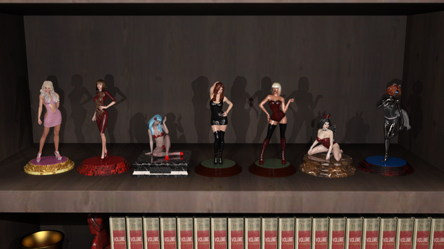 Figurine Collection by CaptianHarlock