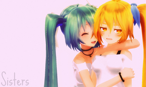 MMD - Sisters ? by Shichi-4134