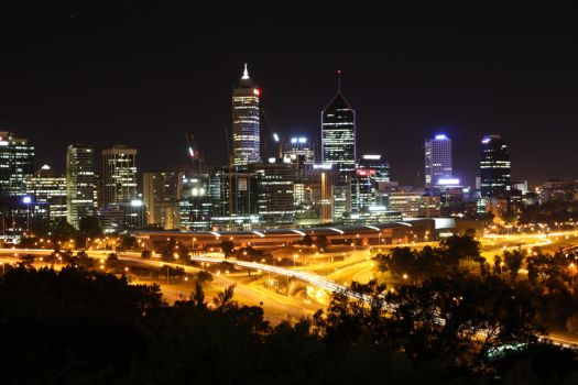 Perth City by piperjock