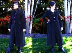 Long Gothic Coat by Wilya12