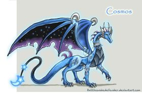 Cosmos- Celestial Guardian by DragonCid