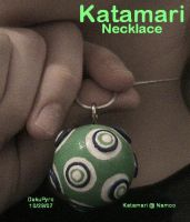 Jewelry: Katamari Necklace by DekuPyro