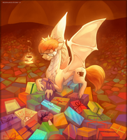 Hoard of gifts by Larest