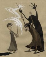 Defence Against the Dark Arts Lesson by asiapasek