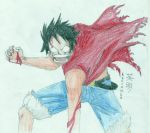 Angry Luffy by Kevinhex