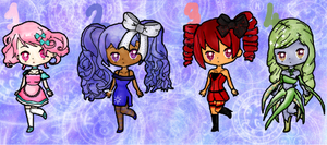 **~OPEN~** ANIMATED Adopts Cheap PayPal/Points by CielPhanomhive