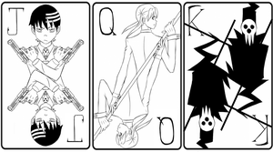 Soul Eater Cards by theWolf0806