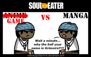 Soul Eater Anime vs. Manga : Noah by nobodygoddammit