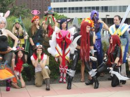 Otakon 2012 League of Legends 4 by chibifool