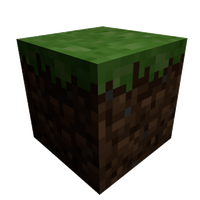 Minecraft Grass Block by BlowJoe