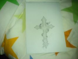 Cross by PLAISTOWKIDD