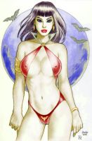Vampirella by MrLively