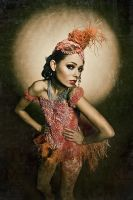 """Mascarade"" collection 2009 by KasiaKonieczka"