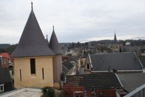 over the roofs from Valkenburg 7 by ingeline-art