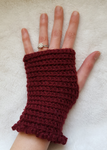Fingerless Crochet Gloves by DuctileCreations