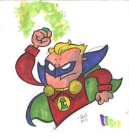 Alan Scott Sketch by thecheckeredman