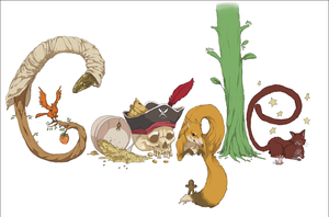 GOOGLE DOODLE by Takiouttio