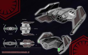 STAR WARS TIE ADVANCED INTERCEPTOR #2 by calamitySi