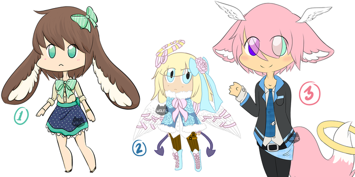 Old Adopts .:OPEN REDUCED:. by Wolfie-Bases-Adopts