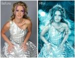 Snow Queen-Before And After by areemus