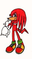 knuckles the echinda by TheRealPennyLane