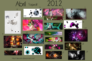 TagWall Abril 2012 by Aikos66