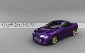Nissan R33 Custom - Wallpaper by theSloth