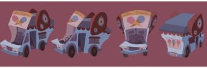 Ice Cream Truck by betsybauer