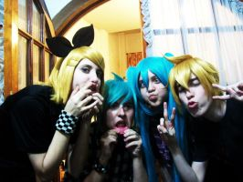 Vocaloid Family by Aneris17