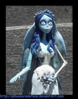 Corpse Bride Emily by p0ussiereDetoile