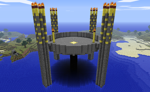 Minecraft Epic Arena by myvideogameworld
