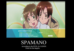 Spamano Promotional Poster by Author4ever