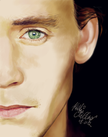 Hiddleston. by SilkSpectreII