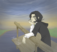 Snape: a moment of silence by gilll