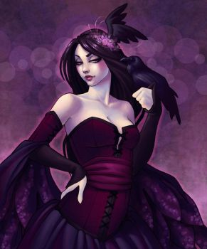 Morgan le Fay by JessiBeans