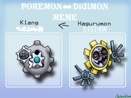 Canon Digimon to Canon Pokemon