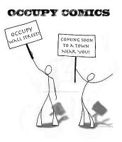 Occupy Comics by SophlyLaughing