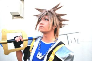 Kingdom Hearts 2: Sora by nikko2nick