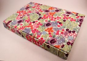 Handmade Guestbook Journal Springtime by GatzBcn
