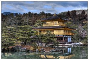 Golden Pavillion 7 by dragonslayero