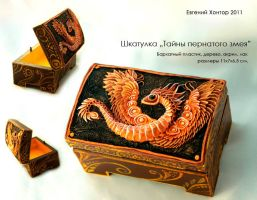 Dragon jewelry box by hontor