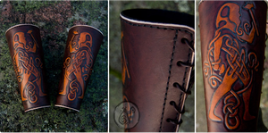 Celtic Blacksmith's Bracers by Nymla
