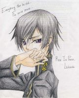 Code Geass: Lelouch Lamperouge by answerstotheuniverse