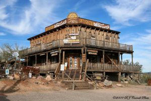Goldfield Ghost Town II by rjcarroll