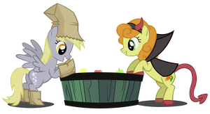 Apple Bobbing by Dipi11